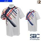 セントクリストファー テニス・バドミントンウェア(メンズ/ユニ) ダイアゴナルライン ゲームTシャツ/メンズ(STC-AGM5037)