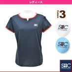 [セントクリストファー テニス・バドミントンウェア(レディース)]パフスリーブゲームTシャツ/レディース(STC-AGW2025)