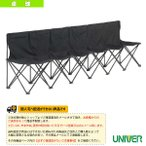 ユニバー 卓球コート用品  [送料別途]6SB コンパクト6シートベンチ(6SB)