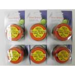 ボウブランド Bow Brand ボウブランド グリップテープ3本巻 ブラウン 6個セット メール便 送料無料 メール便対応用のノンパッケージ品