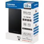 東芝 ポータブルハードディスク CANVIO 1.0TB ブラック HD-TH310JK3AA-D