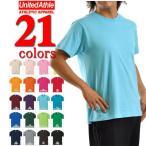 Tシャツ 無地 ユナイテッドアスレUnitedAthle/4.0oz半袖無地Tシャツ(デラ)/メンズ