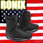 ウェイクボード ブーツ RONIX ロニックス 2018 ワン ブーツ FLASH BLACK One Boot