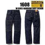トロフィークロージング TROPHY CLOTHING デニム ジーンズ 1608 ダブルニーナローダートデニム ジーパン W KNEE NARROW DIRT DENIM セルビッジ 14.5oz インディ