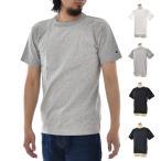 チャンピオン Champion Tシャツ メンズ US ヘビーウエイト T1011 無地 袖ワンポイントロゴ C5-P301[M便 1/1]  アメカジ