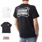スタンダードカリフォルニア STANDARD CALIFORNIA SD オーシャン シールドロゴ 半袖Tシャツ TSOAA063