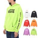 VANS バンズ ヴァンズ パーカー メンズ ロゴ フライングV プルオーバー フーディー スウェット ブランド 白 黒 ブラック 赤 オレンジ 紫 黄色 VA18FW-MC07