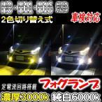 オデッセイ H25.11〜H29.10 RC1・2 フォグランプ H8 H11 H16 LED ツイン 2色切り替え 車検対応