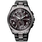 シチズン アテッサ AT8166-59E ブラックチタンシリーズ 腕時計 国内正規品