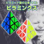 トライアングル ルービックキューブ ピラミッド ピラミンクス パズル 子供から大人まで 絶妙な難しさ 脳の運動 ◇RIM-SSPX10