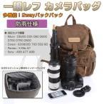 一眼レフカメラバッグ カメラリュック 2wayバックパック インナーバッグ付き 防雨仕様 アウトドア 旅行 通勤 Canon Pentax 並行輸入品 ◇RIM-CMAG-F5