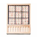 SUDOKU 数独 木製 パズル ナンバープレイス ナンプレ 推理ゲーム 卓上ゲーム 9ブロック キッズ 子供 教育玩具 おもちゃ 大人 ボードゲーム ◇RIM-ZC024