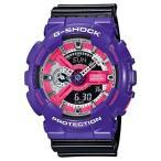 ショッピングShock 海外CASIO 海外カシオ 腕時計 GA-110NC-6A メンズ G-SHOCK ジーショック 90sスタイル ペア