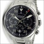 ハミルトン HAMILTON 腕時計 H64666135 Khaki Aviation Pilot Auto Chrono カーキ アビエーション パイロット オート クロノ メンズ