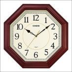 カシオ CASIO クロック IQ-123S-5JF 掛時計 壁掛け スムーズ秒針 木枠