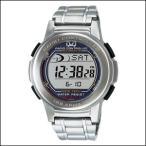 キュー&キュー腕時計 Q&Q 時計MHS5-200メンズ CITIZEN CBM シチズンCBM ソーラー 電波時計 クロノグラフ デジタルウォッチ