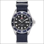 スイスミリタリー SWISS MILITARY 腕時計 ML-414 NAVY ネイビー メンズ