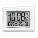 セイコー SEIKO 時計SQ424W掛置兼用時計 デジタル電波クロック