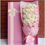愛の花束 熊束プロポーズ  くま束 ベア ブーケ バレンタインデー プレゼント ギフト 愛の告白 誕生日 結婚記念日 愛を伝える AlohaMahalo画像