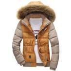 ダウンジャケット ダウンコート フード付き 真冬 暖かい メンズ ショートブルゾン コート アウター