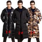 ダウンジャケット ロング ダウンコート フード付き ベンチコート メンズ ショートブルゾン コート アウター