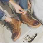 ブーツ メンズ ミリタリーブーツ ショートブーツ ワークブーツ カッコイイ ヒップホップ トリート系 靴 シューズ