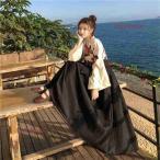 レディース チャイナドレス 長袖 花柄