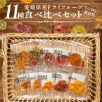 ドライフルーツ 食べ比べ11種 ポイント消化 お試し メール便送料無料 ギフト 包装無料対応