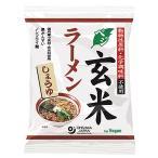 オーサワのベジ玄米ラーメン(しょうゆ)112g【オーサワジャパンの商品10個以上ご注文で送料無料!】