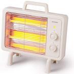 アイリスオーヤマ 電気ストーブ 速暖 転倒時電源OFF 400W/800W 2段階切替 遠赤外線ヒーター アイボリー IEHD-800