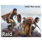 1/35 インディアン戦争 奇襲 米先住民兵士2体 斧 盾 プラモデル マスターボックス