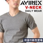 雅虎商城 - AVIREX アビレックス アヴィレックス Tシャツ Vネック 半袖 メンズ 父の日 プレゼント
