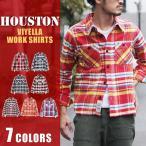 HOUSTON ヒューストン ビエラワークシャツ チェック シャツ