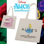 エコバッグ サブバッグ レジカゴ 折りたたみ トートバッグ 買い物袋  カバン 鞄 バッグ アリス ふしぎの国のアリス キャラクター