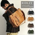 トートバッグ ショルダーバッグ メンズ RIDLEY 2wayトートショルダー カジュアル 大容量 フェイクレザー 鞄 カバン かばん 旅行 通勤