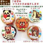 キャラクターケーキ 子供 誕生日 デコレーション 濃厚 ガトーショコラ