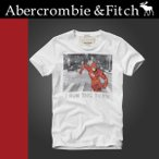 ショッピングAbercrombie 正規品 アバクロ  Abercrombie&Fitch Tシャツ 半袖 ホワイト NOONMARK TEE ザ・フラッシュ