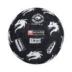 Monta ストリートサッカー専用ボール Street Match 4.5号球(デニム×ホワイト)Monta/モンタ