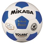 ミカサ サッカーボール4号検定球 白/青 SVC402SBC-WBL
