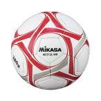 ミカサ サッカー5号手縫い 軽量 約380g 白赤 MC512L-WR