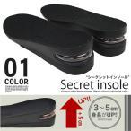 インソール メンズ シューズブーツスニーカー用 シークレット 中敷き エアークッション 衝撃吸収 靴 / エアーインソール