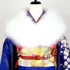 振袖 ショール マラボー 着付け小物 和装 着物 浴衣 フェザーショール 成人式 白