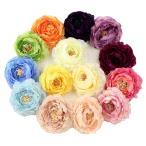 ラナンキュラス 髪飾り コサージュ  髪飾り 花 フォーマル 結婚式 成人式 振袖 袴 和装 七五三 着物 浴衣