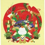 彩時記 綿小風呂敷 ふろしき お正月 中巾(50cm幅) エコバッグ 母の日 父の日 プレゼント 手拭い 赤
