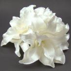カサブランカ、ピオニー髪飾り3点セット  髪飾り 花 フォーマル 結婚式 成人式 振袖 袴 和装 七五三 着物 浴衣