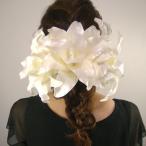 カサブランカ3点セット  髪飾り 花 フォーマル 結婚式 成人式 振袖 袴 和装 七五三 着物 浴衣
