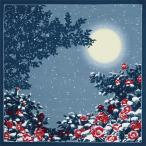 綿大判風呂敷 ふろしき 自遊布 日本の冬三巾(118cm幅) エコバッグ 母の日 父の日 プレゼント 名入れ可