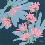 シビラ 綿小風呂敷 Sybilla マルガリータ(紺)中巾(50cm幅) エコバッグ 手拭い 母の日 父の日 プレゼント
