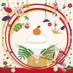 彩時記 丹後ちりめん友仙風呂敷 ふろしき お正月 二巾(68cm幅) エコバッグ 手拭い 母の日 父の日 プレゼント 白
