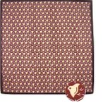 粋勢綿小風呂敷 ふろしき 千鳥 中巾(50cm幅) エコバッグ 手拭い 母の日 父の日 プレゼント エンジ